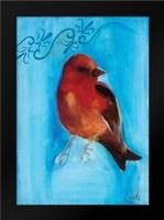 Bird Study II: Framed Art Print by Adkin, Arielle
