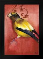 Bird Study VI: Framed Art Print by Adkin, Arielle