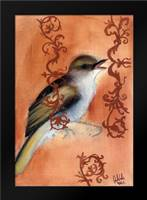 Bird Study VII: Framed Art Print by Adkin, Arielle