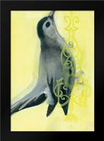 Bird Study VIII: Framed Art Print by Adkin, Arielle