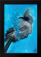 Bird Study IX: Framed Art Print by Adkin, Arielle