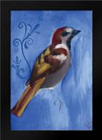 Bird Study XI: Framed Art Print by Adkin, Arielle