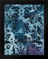 Indigo Patterns II: Framed Art Print by Adkin, Arielle