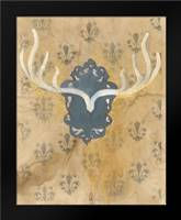 Faux Antlers: Framed Art Print by Adkin, Arielle