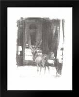 Deer II: Framed Art Print by Adkin, Arielle