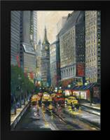 City Street I: Framed Art Print by Adams, J.