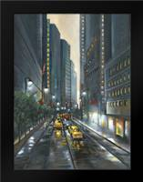 City Street II: Framed Art Print by Adams, J.