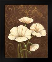 Moonlight Poppies II: Framed Art Print by Adams, J.