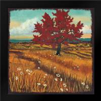Distant Fields I: Framed Art Print by Angeney, Tamara