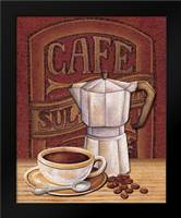 Cafe Mundo I: Framed Art Print by Audrey, Charlene