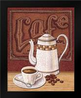 Cafe Mundo II: Framed Art Print by Audrey, Charlene