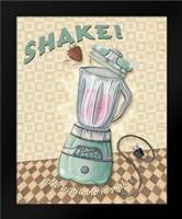 Nifty Fifties - Shake: Framed Art Print by Audrey, Charlene