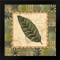 Tropical Leaf III: Framed Art Print by Audrey, Charlene