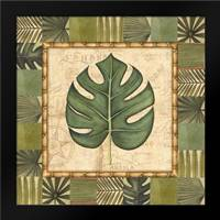 Tropical Leaf IV: Framed Art Print by Audrey, Charlene