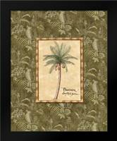 Vintage Palm II: Framed Art Print by Audrey, Charlene