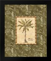 Vintage Palm IV: Framed Art Print by Audrey, Charlene