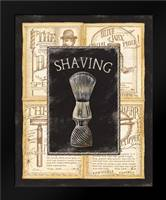 Grooming Shaving: Framed Art Print by Audrey, Charlene