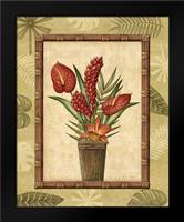 Paradisio Bouquet I: Framed Art Print by Audrey, Charlene