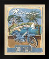 Riviera: Framed Art Print by Audrey, Charlene