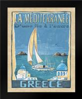 Greece: Framed Art Print by Audrey, Charlene