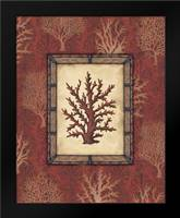 Red Coral II: Framed Art Print by Audrey, Charlene