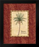 Red Passion Palm I: Framed Art Print by Audrey, Charlene