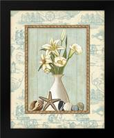 Beach Memories I: Framed Art Print by Audrey, Charlene