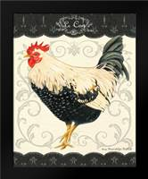 Le Coq II: Framed Art Print by Babbit, Gwendolyn