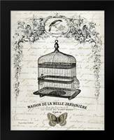 French Birdcage II: Framed Art Print by Babbit, Gwendolyn