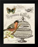 Music Bird I: Framed Art Print by Babbitt, Gwendolyn