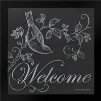 Bird Welcome: Framed Art Print by Babbitt, Gwendolyn
