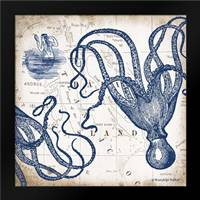 Octopi I: Framed Art Print by Babbitt, Gwendolyn
