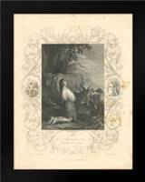 Faith Engraving III: Framed Art Print by Babbitt, Gwendolyn