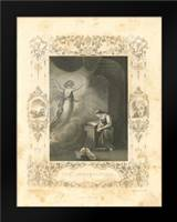 Faith Engraving VI: Framed Art Print by Babbitt, Gwendolyn