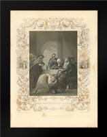 Faith Engraving VII: Framed Art Print by Babbitt, Gwendolyn