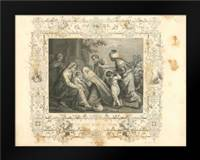 Faith Engraving VIII: Framed Art Print by Babbitt, Gwendolyn