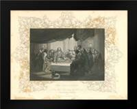 Faith Engraving IX: Framed Art Print by Babbitt, Gwendolyn