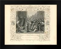 Faith Engraving X: Framed Art Print by Babbitt, Gwendolyn