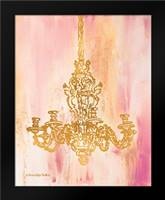 Pink and Gold I: Framed Art Print by Babbitt, Gwendolyn