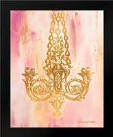 Pink and Gold II: Framed Art Print by Babbitt, Gwendolyn