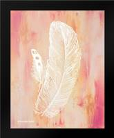 Whimsical Feathers I: Framed Art Print by Babbitt, Gwendolyn