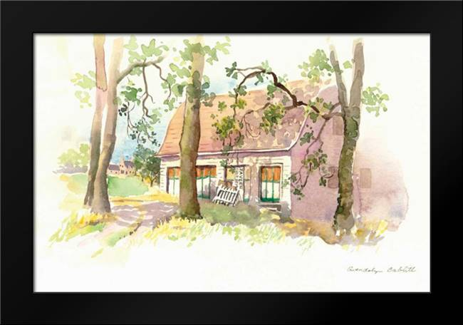 Janes Barn I: Framed Art Print by Babbitt, Gwendolyn