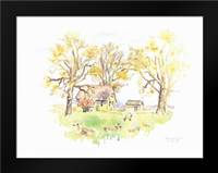Janes Barn II: Framed Art Print by Babbitt, Gwendolyn
