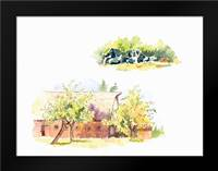 Ridgefield Barn II: Framed Art Print by Babbitt, Gwendolyn