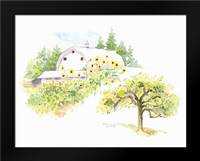 Ridgefield Barn III: Framed Art Print by Babbitt, Gwendolyn