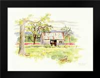 Dougs Shed: Framed Art Print by Babbitt, Gwendolyn