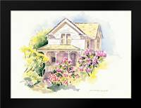 Lilac Farm: Framed Art Print by Babbitt, Gwendolyn