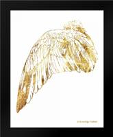Gold Wing III: Framed Art Print by Babbitt, Gwendolyn