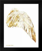 Gold Wing IV: Framed Art Print by Babbitt, Gwendolyn