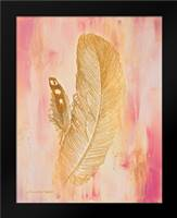 Gold on Pink II: Framed Art Print by Babbitt, Gwendolyn